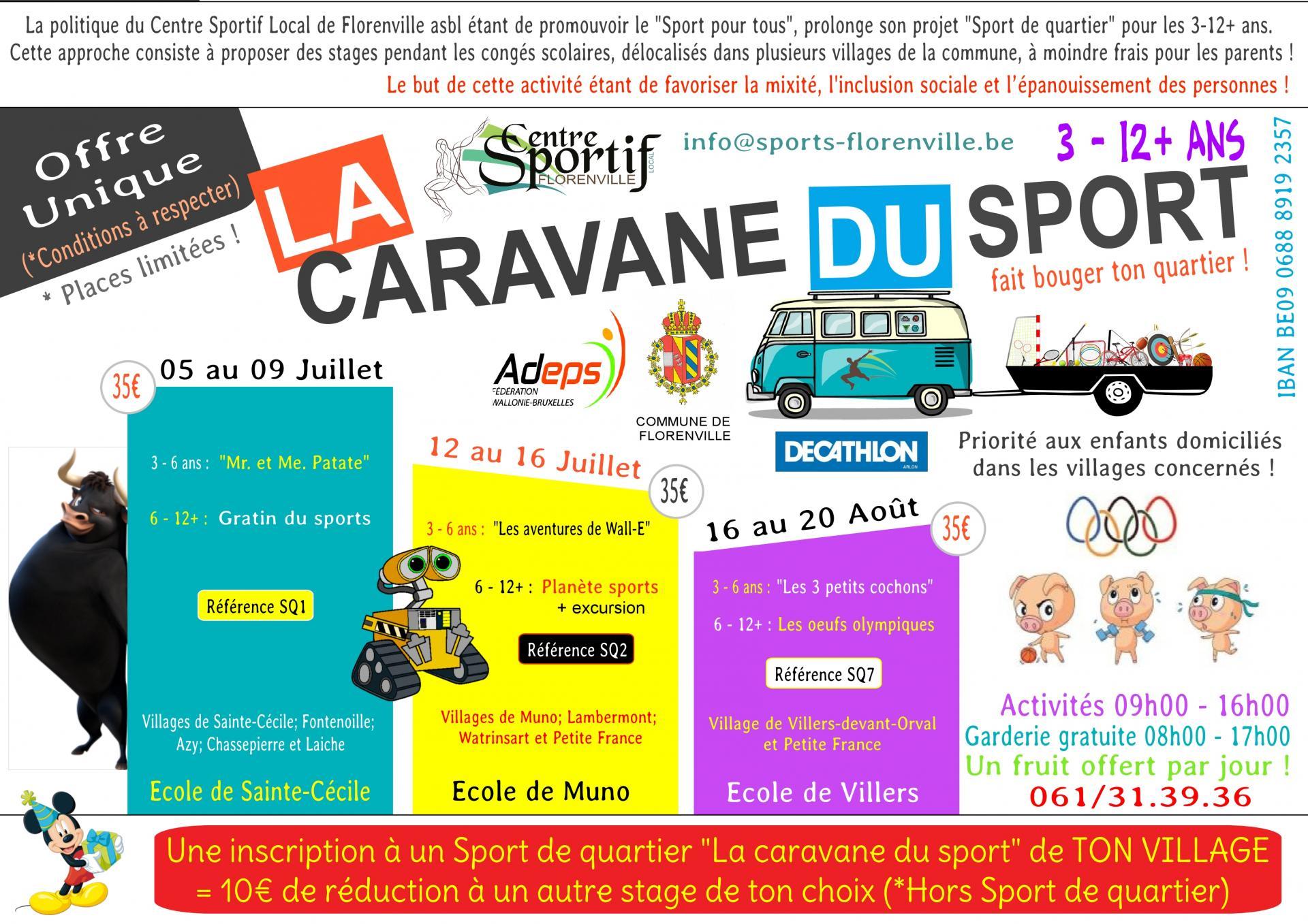 Caravane du sport 2021